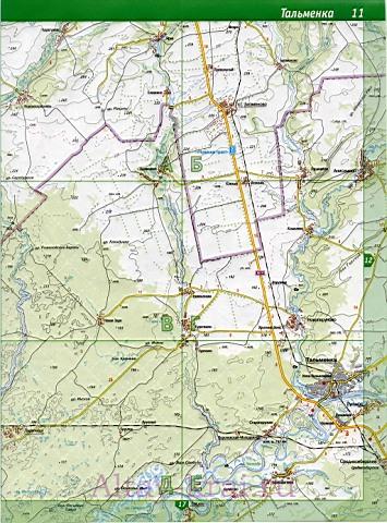 Карта Алтайского Края скачать