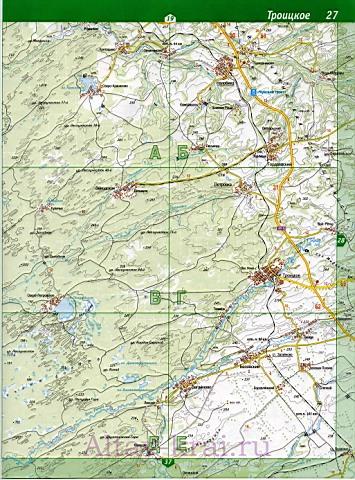 Карта Косихинского р-на